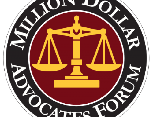 Attorney Comitz Selected to Million Dollar Advocates Forum